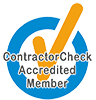 Contractor Check Logo for Review