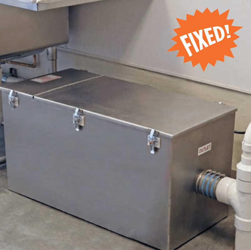 Grease Trap replacement installation repair