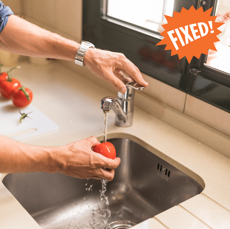 Langley Plumber - Residential  - Kitchen sink and faucet