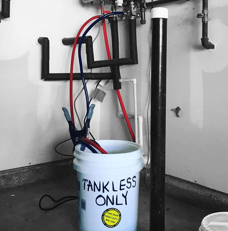 Flushing Tankless Water Heater